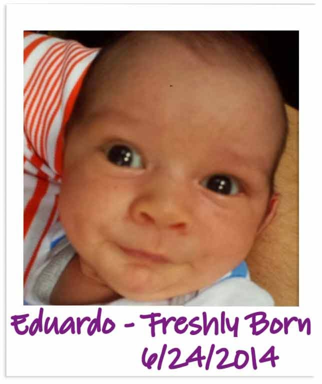 Happy 1st Birthday from Spirit of Life to Eduardo