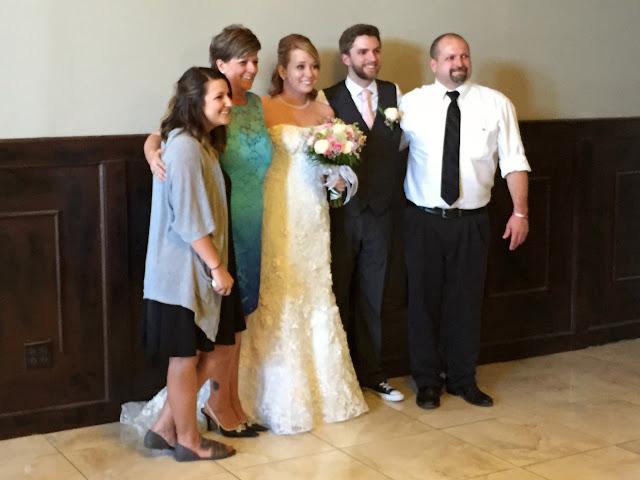 Grand daughter Tyffanie, daughter Tawnya, Hailey, grandson Jake, and their dad, Jack Wisener.