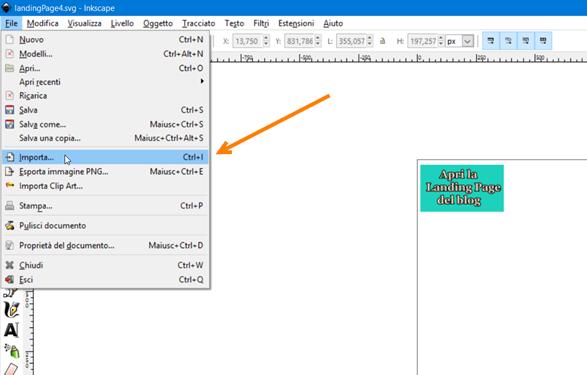 inkscape-interfaccia