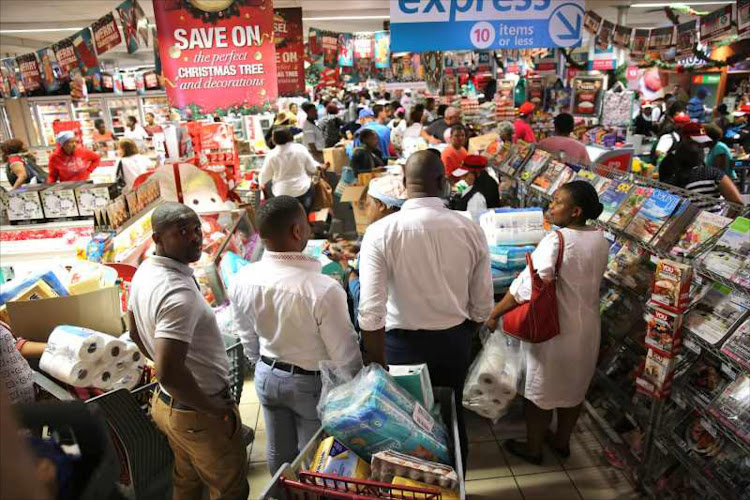 Shoppers packed Nahoon Checkers on Black Friday