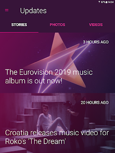Eurovision Song Contest Screenshot