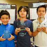 BU 11: 3rd place - Ben Ehrman (Boston, MA); Champion - Mustafa Ayaz (Cambridge, MA); Finalist - Lachlan Sutton (Cambridge, MA)