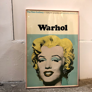 Exibition Poster: Warhol at the Tate