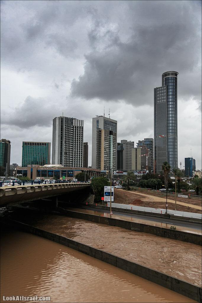 Сказ о том как одна маленькая, но гордая речка парализовала половину Израиля и весь Тель Авив | LookAtIsrael.com - Фотографии Израиля и не только...