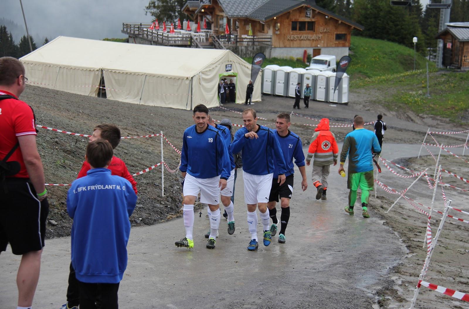 EURO 2016 - Morzine: Den druhý - Švýcarsko