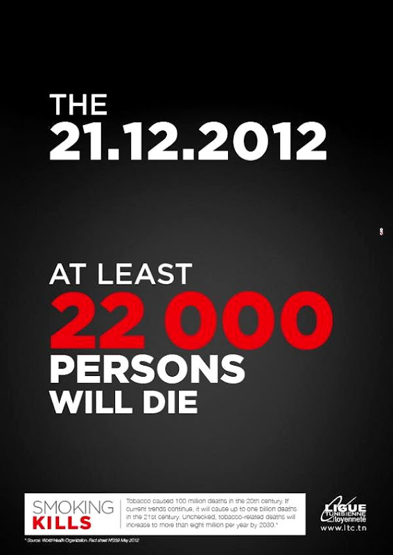 The 21/12/2012, at least 22,000 persons will die...