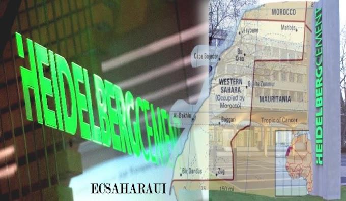 """El F. Polisario pide a la compañía alemana """"Heidelberg Cement"""" detener de inmediato sus actividades comerciales en el Sáhara Occidental ocupado"""