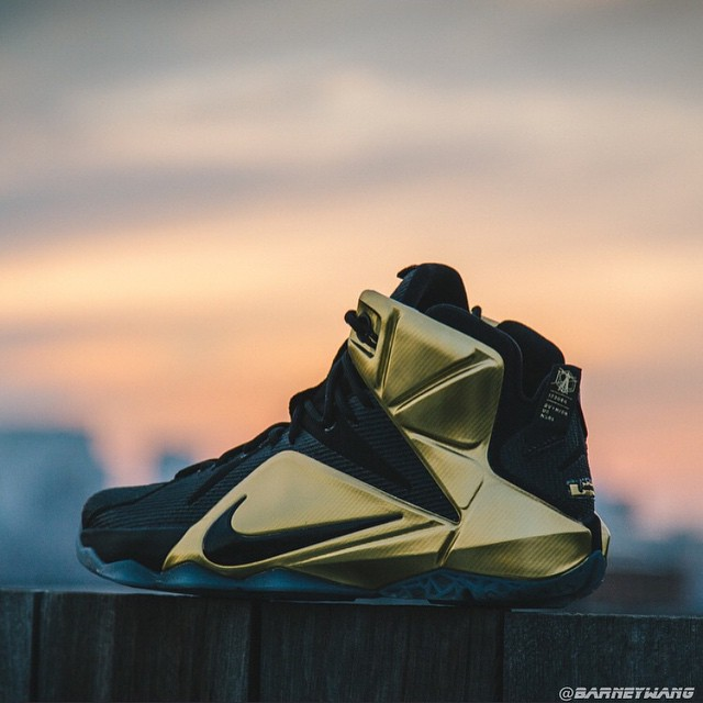 differently 352b3 98c4e ... Closer Look at the Elusive Grammy Night LeBron 12 PE ...