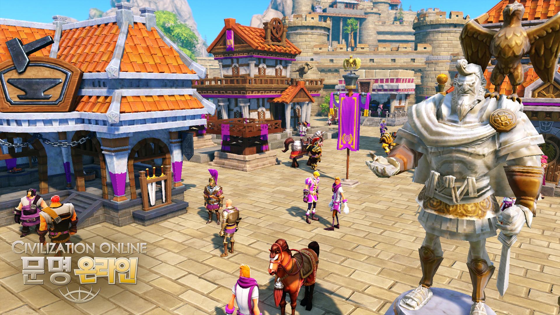 Cận cảnh Civilization Online trong giai đoạn CBT 1