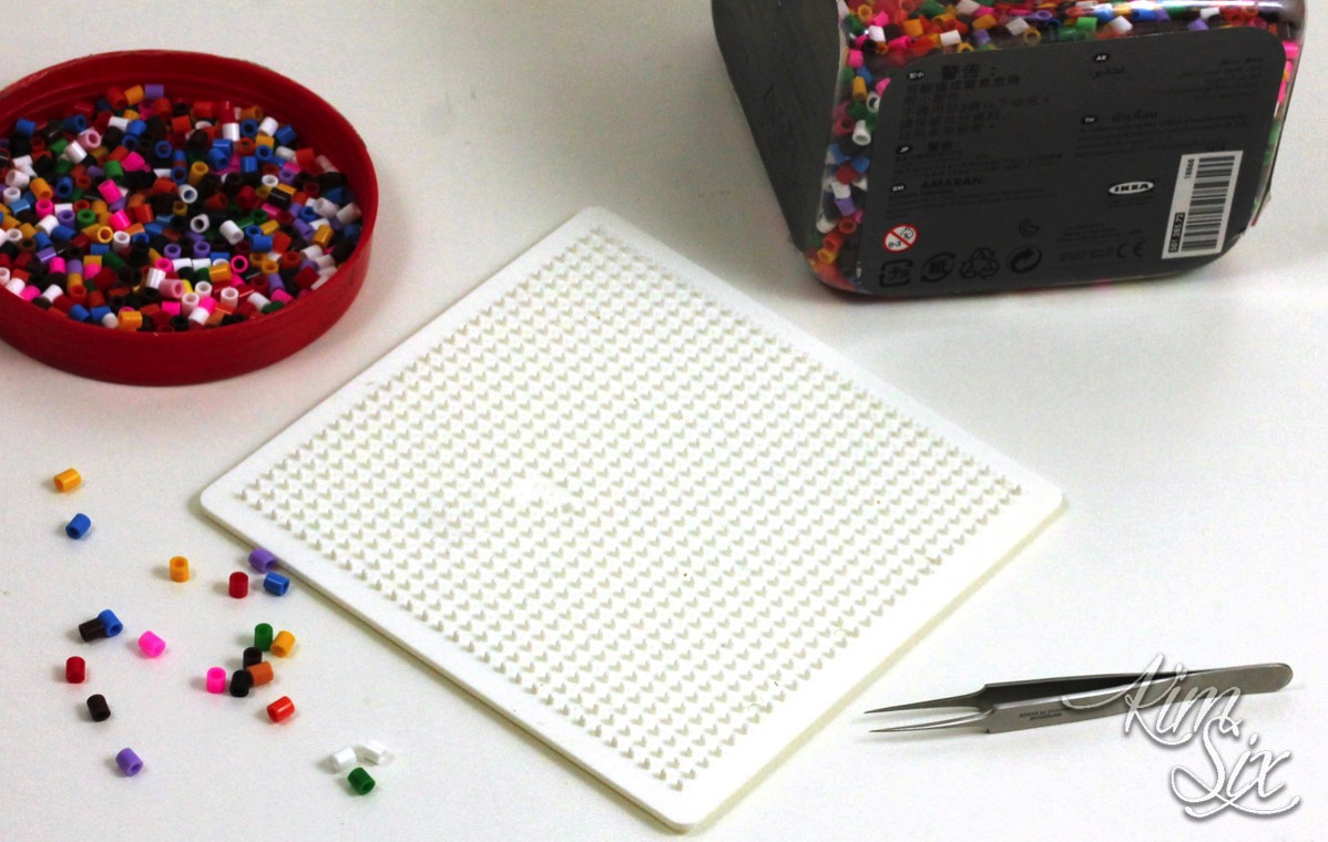 Pearler bead project supplies