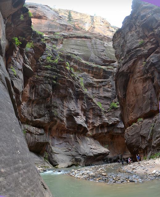 rock as the river curves again