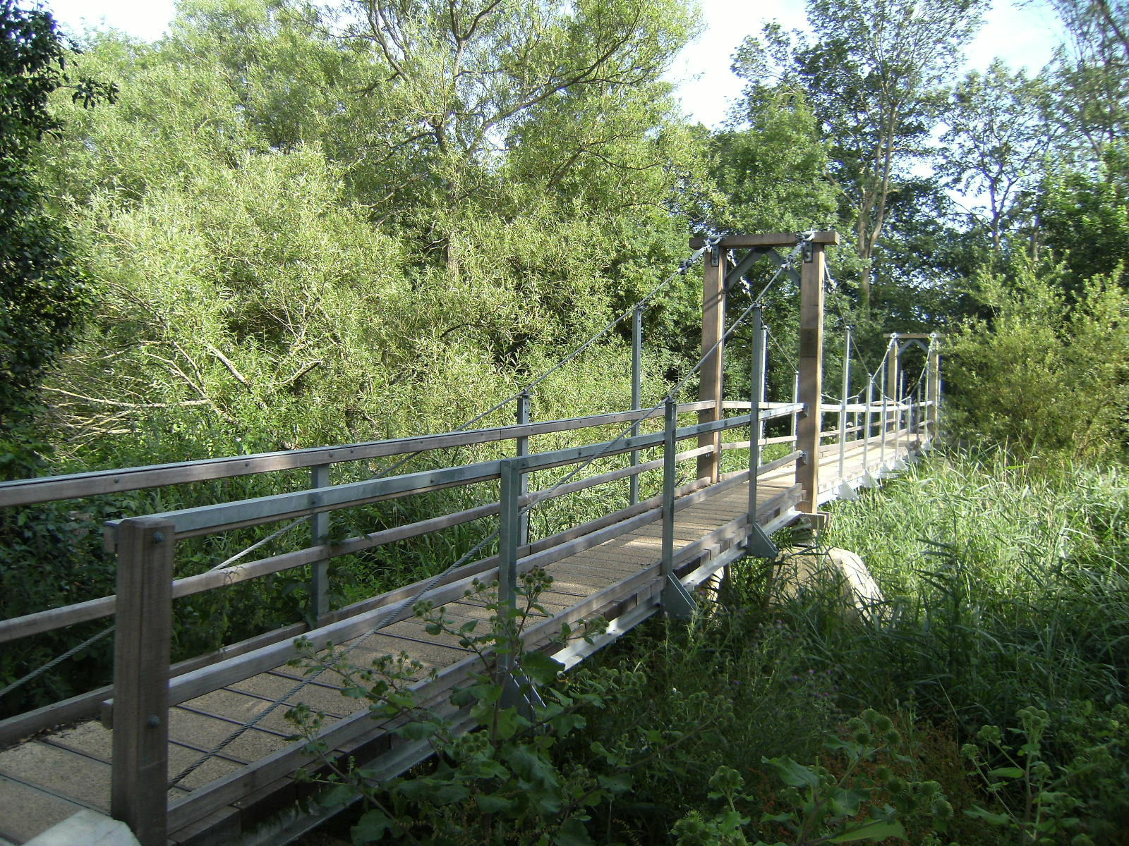 1007190178 New footbridge near North Stoke