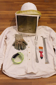Beekeeping gear, CC BY-NC, Sarah Sharp