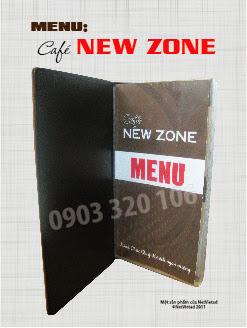 In menu nhà hàng giá rẻ nhất