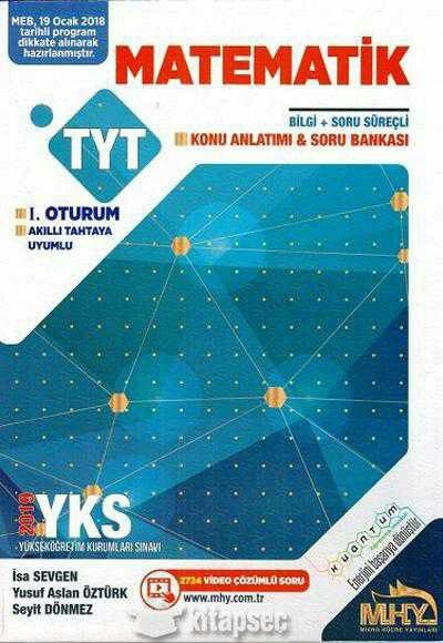 Mikro Hücre Yayınları TYT Matematik Konu Anlatım ve Soru Bankası