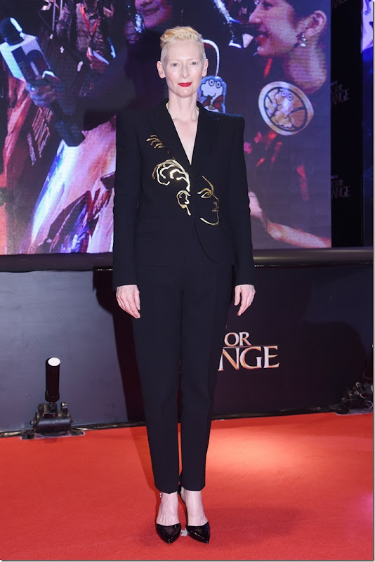 Tilda Swinton in Schiaparelli Haute Couture