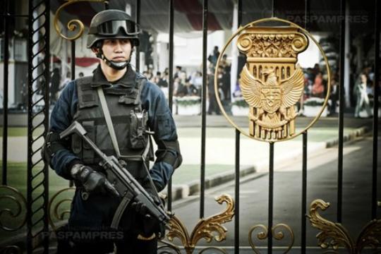 Mabes Polri Diserang, Pengamanan Istana Negara Diberlakukan Berlapis