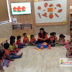 Orange Day Celebration of Nursery Morning Section at Witty World, Chikoowadi (2017-18)