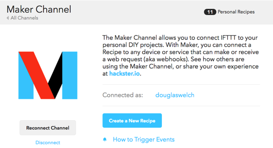 Maker channel