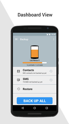 Backup - screenshot