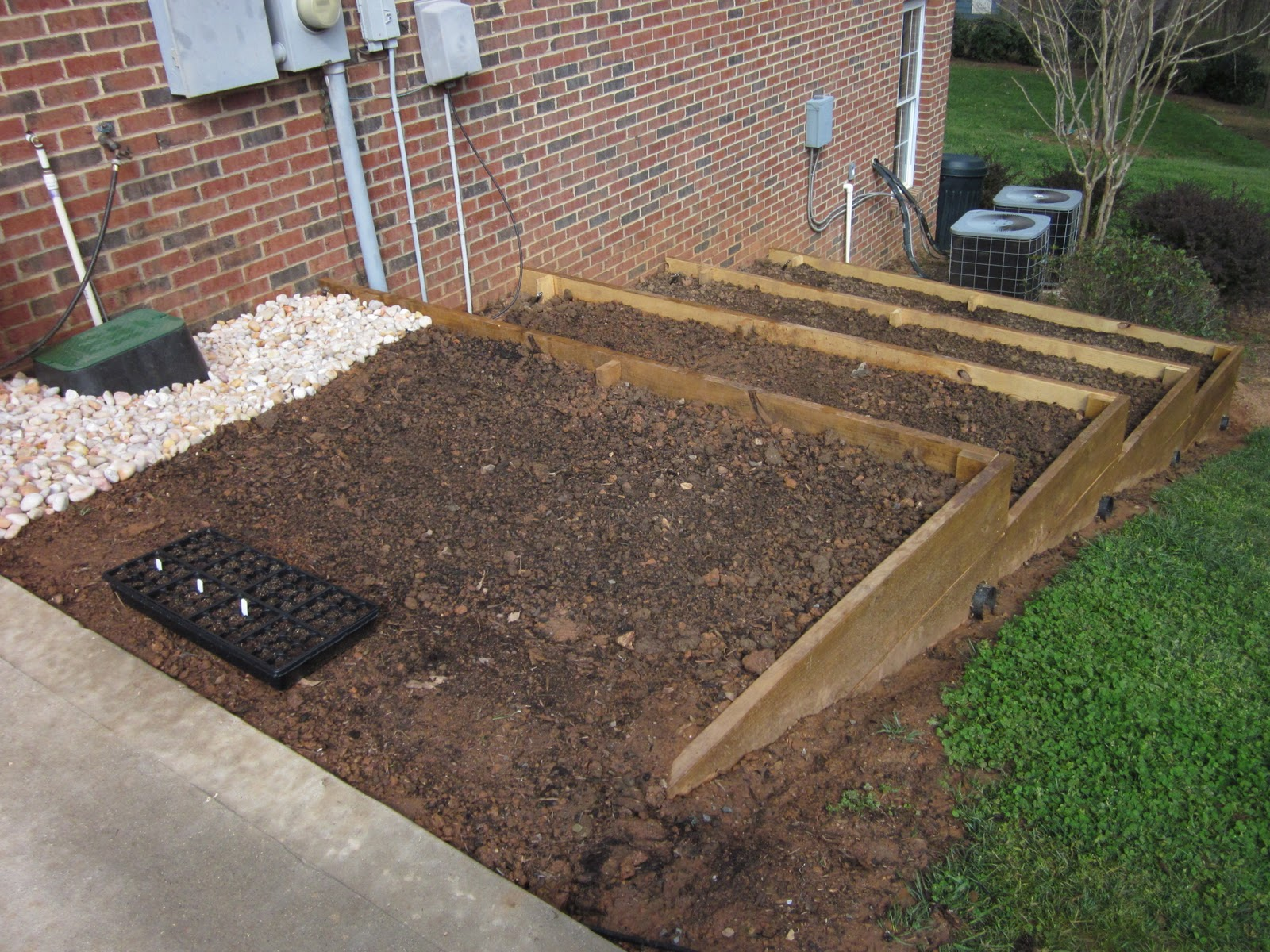 Diy design fanatic ready to plant for Garden renovation ideas