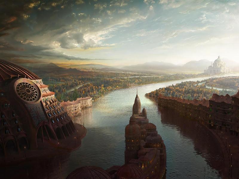 Weird Lands From Dream 11, Magical Landscapes 5