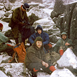 1967.02 Tryfan, Mark Hogg,unknown, Tina Whincup,Mike Briggs, Tony George,unknown.jpg