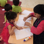 Hexagon day in Nursery(2014-15) at Witty World