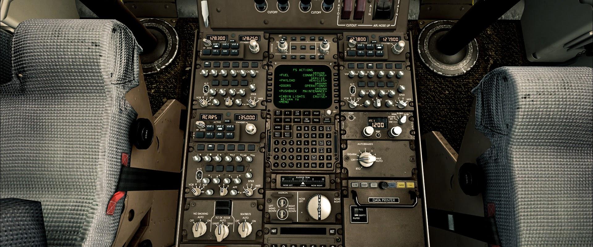 PMDG 747 #1 - my first flight • C-Aviation