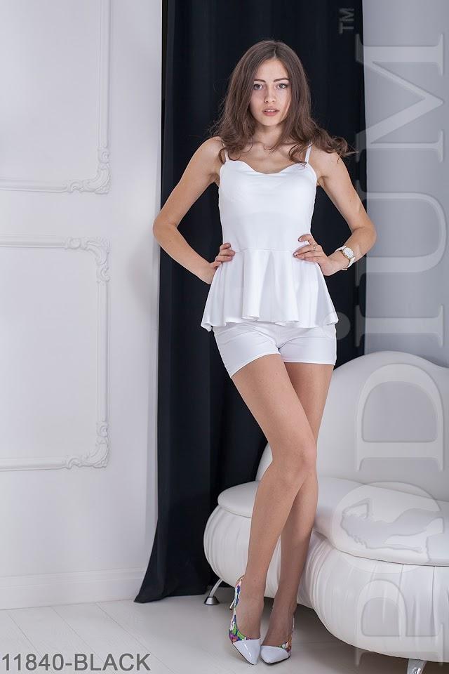 Женский костюм кофта и шорты Clary