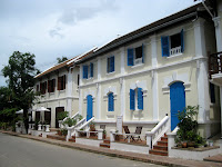 French-influenced architecture in Luang Prabang