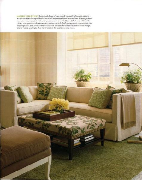 farbgestaltung - 21 tipps für harmonisch grüne wohnräume - Wohnzimmer Beige Grun