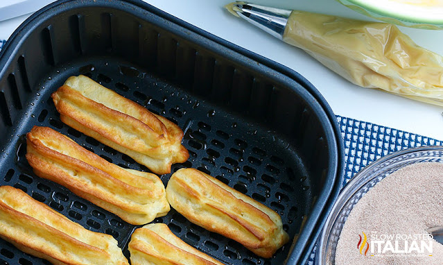 Easy Churros in the air fryer