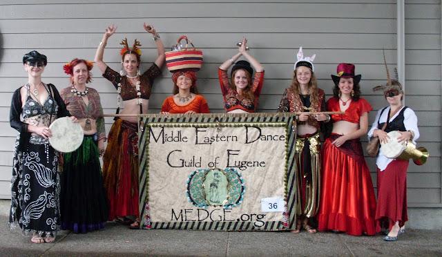 MEDGE entry in the Eugene Celebration Parade