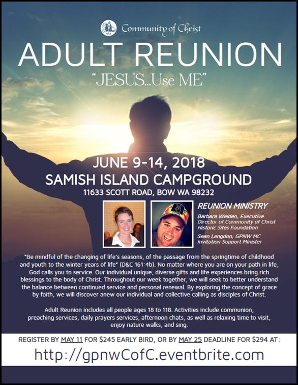 Samish Adult Reunion 2018