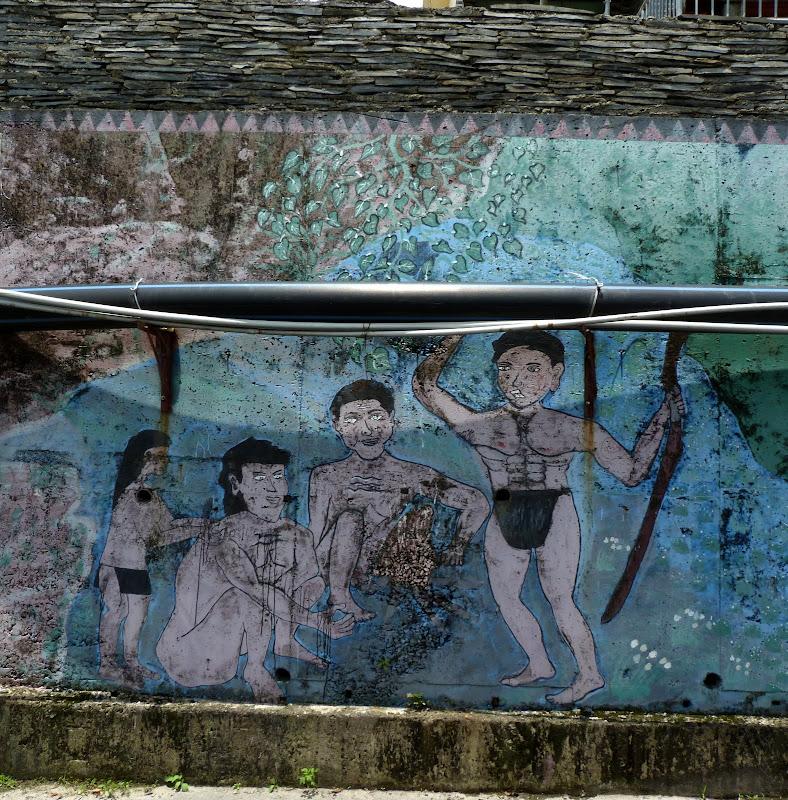 Puli  en passant , entre autres, par les villages de l ethnie Bunum de Loloko et Dili. J 10 - P1160909.JPG