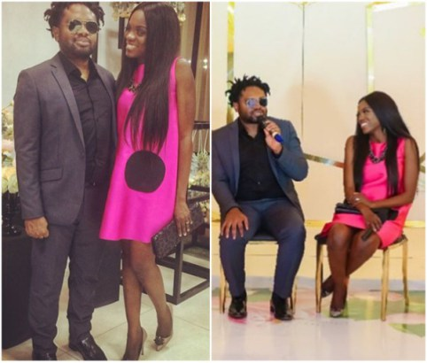 Cobhams sings and pens down birthday message to his wife (video)