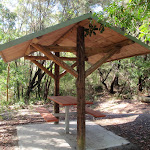 Picnic shelter in overflow car park (238166)