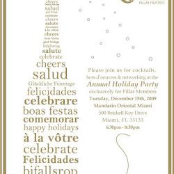 Pillar Trustee Holiday Reception at the Mandarin Oriental Miami