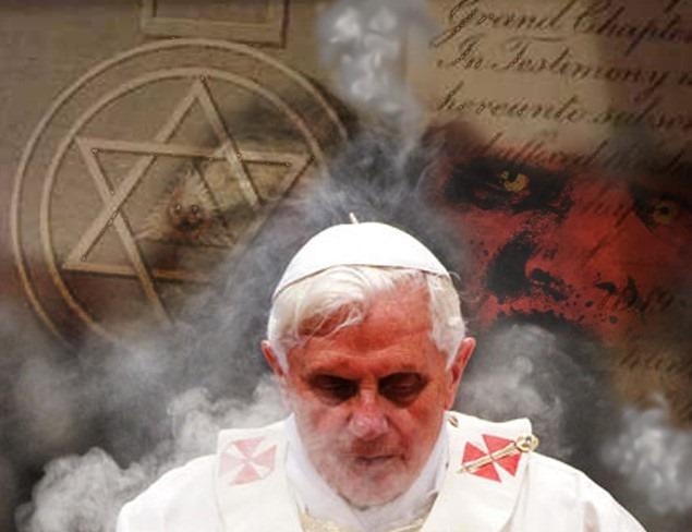 PopeBendict-Jew-Pawn