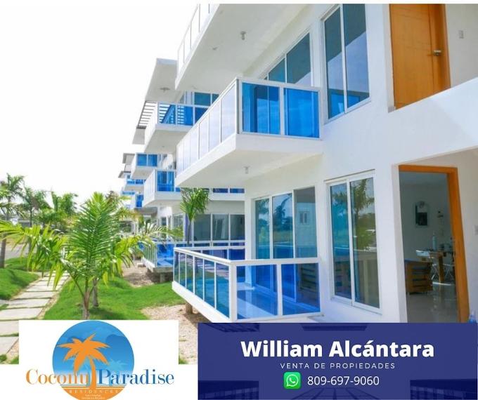 Coconut Paridise Un complejo residencial seguro que incluye: villas, condominios y club de playa.
