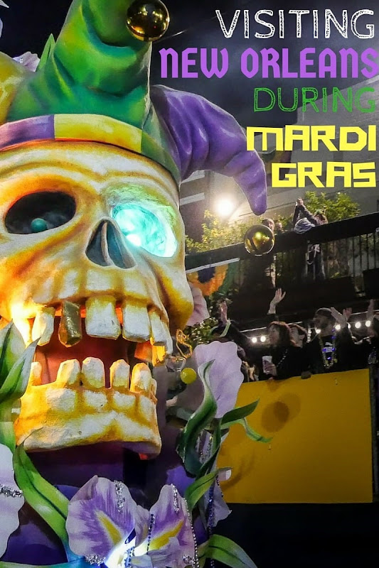 Everything you need to know about visiting New Orleans during Mardi Gras, from what to see and do through to tips for finding accommodation and watching the parades!