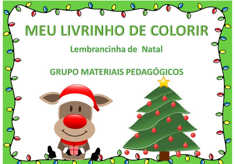 LIVRINHO DE COLORIR - NATAL