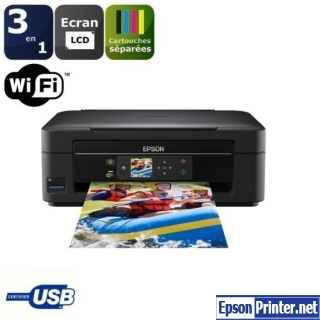 How to reset Epson XP-302 printer