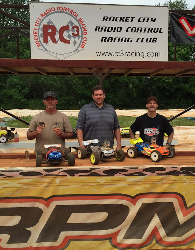 1:8 Truggy - 1st: Ben Carroll, 2nd: Mark Parrish, 3rd: Repo Southern, TQ: Repo Southern
