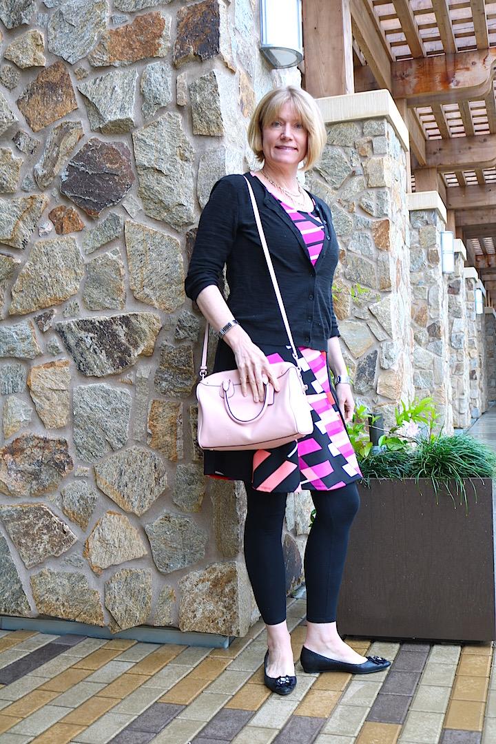 Black  Pink Dress 2 1