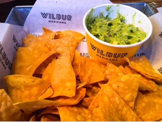 Wilbur Mexicana - guacamole and chips