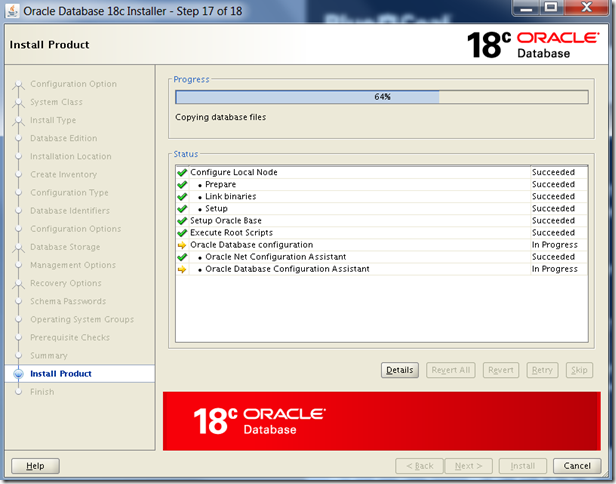 Oracle Database 18c Installation