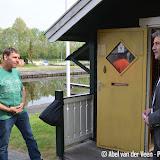 Wisseling havenmeester haven Pekela - Foto's Abel van der Veen