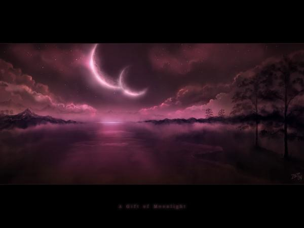 A Gift Of Moonlight, Magical Landscapes 6